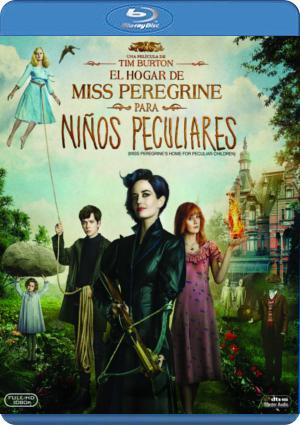 el hogar de miss peregrine para niños peculiares (blu-ray)-8420266004871