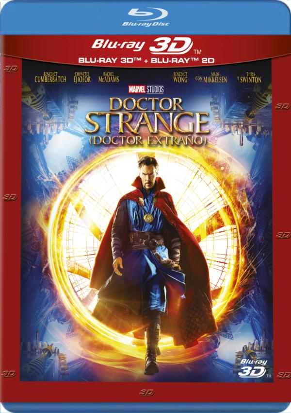 doctor strange (doctor extraño) (blu-ray 3d)-8717418497811