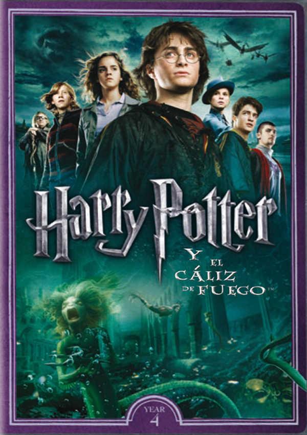 HARRY POTTER Y EL CÁLIZ DE FUEGO - DVD -
