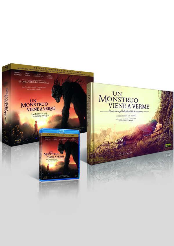 un monstruo viene a verme - blu ray + libro - ed.limitada-8414533104562