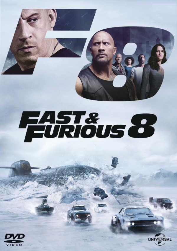 fast & furious 8 - dvd --8414533106580