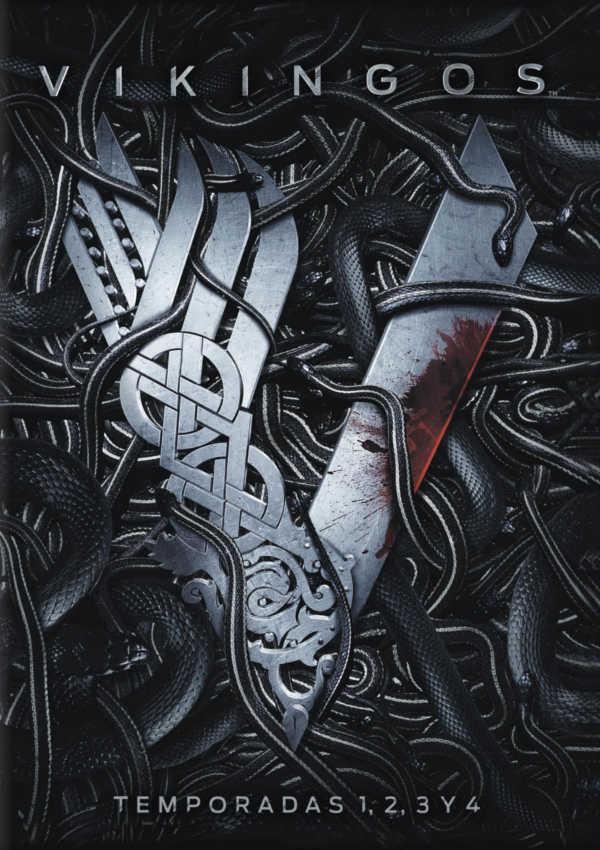 vikingos - dvd - temporada 1-4-8420266006943