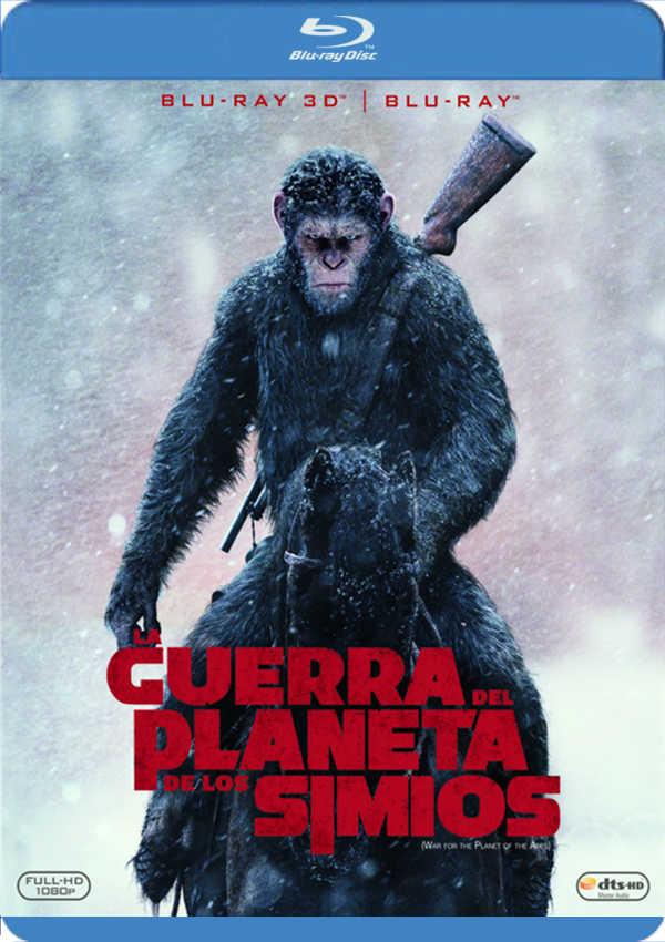 la guerra del planeta de los simios - blu ray 3d --8420266010681
