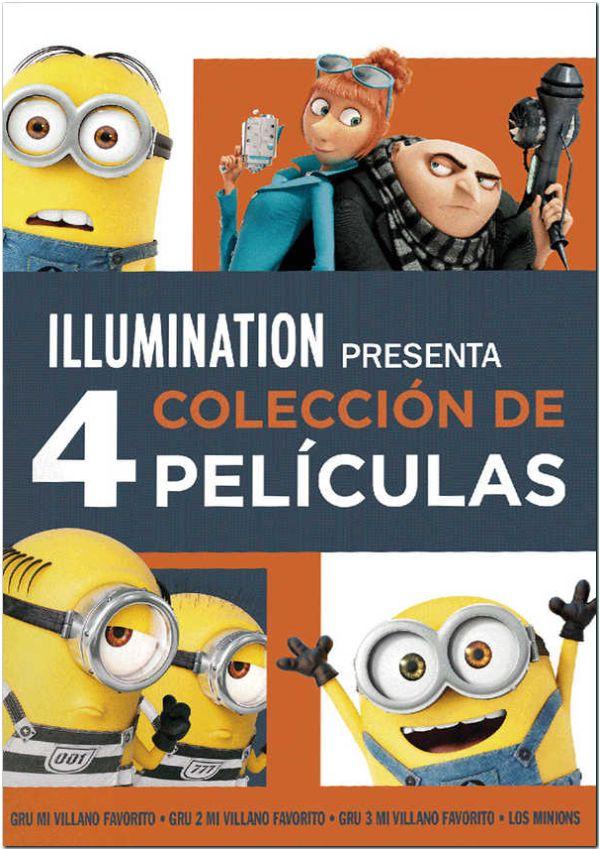 pack gru 1-3 + minions - dvd --8414533108867