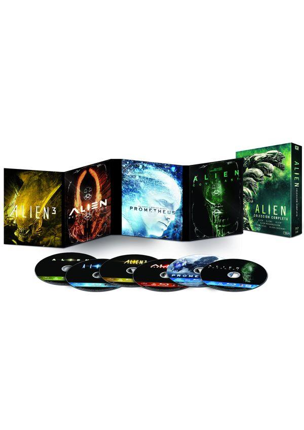 pack alien 1-6 - blu ray --8420266011695