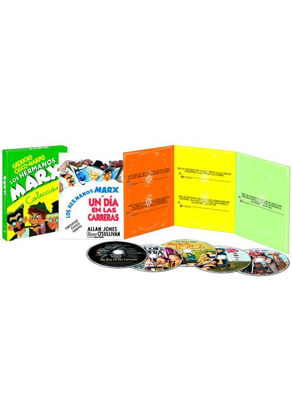 pack hermanos marx - dvd --8420266011770