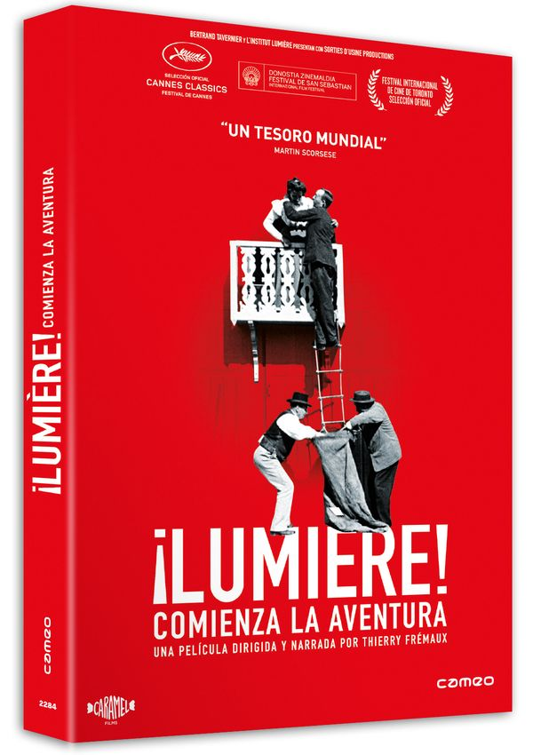 ¡lumière!. comienza la aventura - dvd --8436564163820