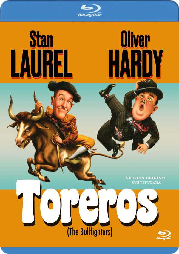 stan y oliver toreros (v.o.s) - blu ray --8436555533939