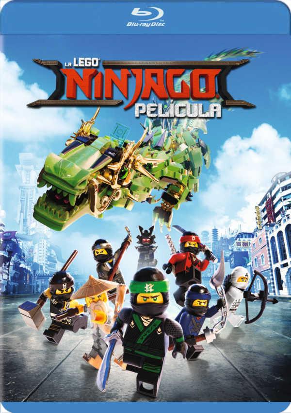 La Lego Ninjago Pelicula Blu Ray De Charlie Bean 8420266012494