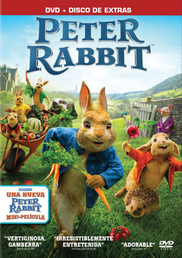 peter rabbit - dvd --8414533113953