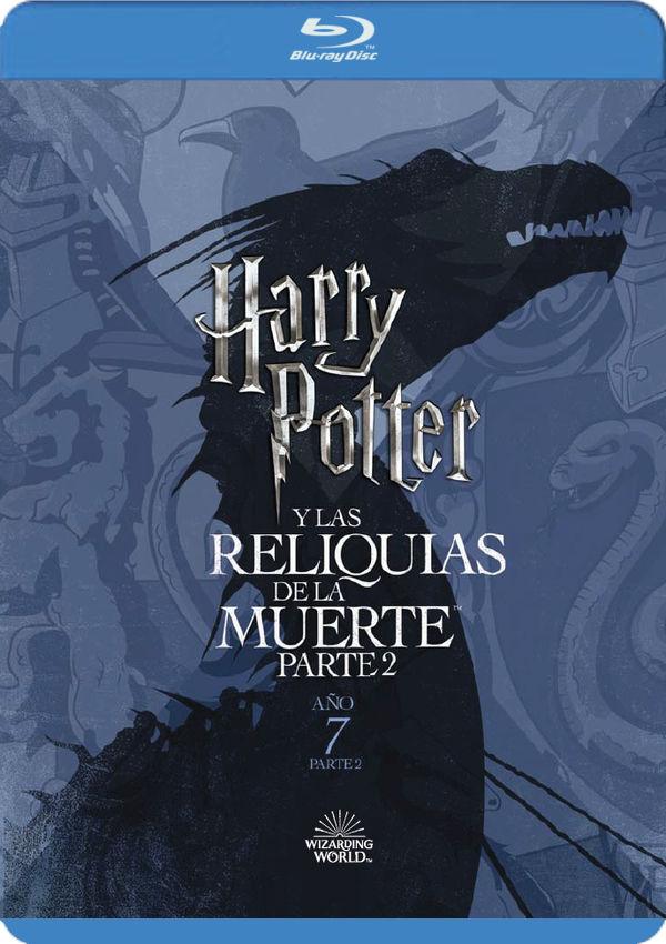 harry potter y las reliquias de la muerte parte 2. ed. 2018 - blu ray --8420266019035