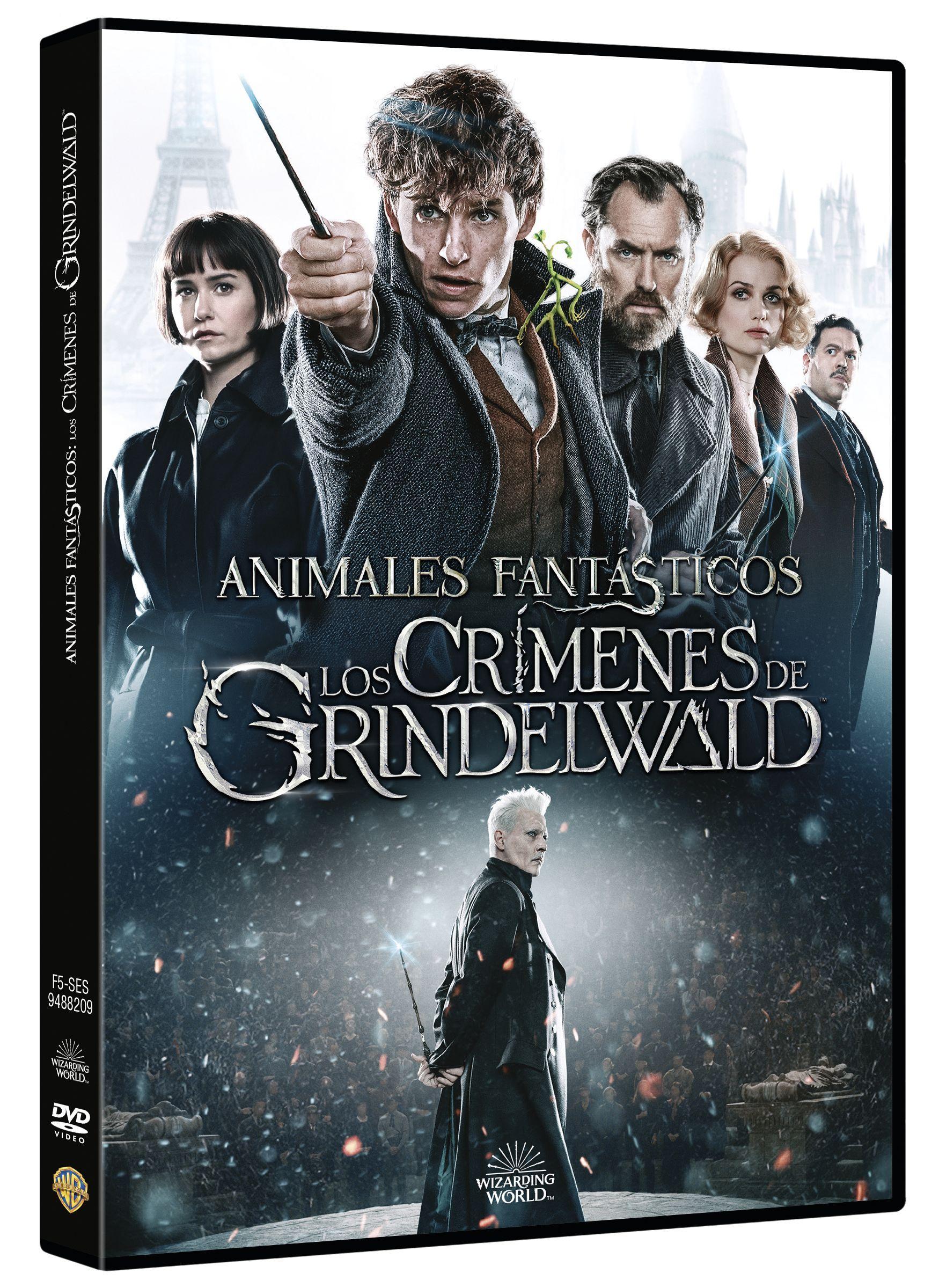 animales fantásticos: los crímenes de grindelwald - dvd --8420266021588
