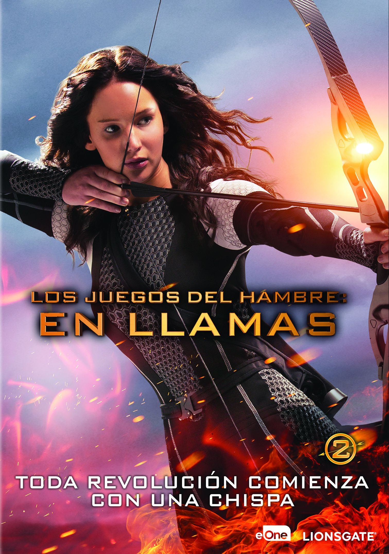 Los Juegos Del Hambre En Llamas Dvd De Francis Lawrence