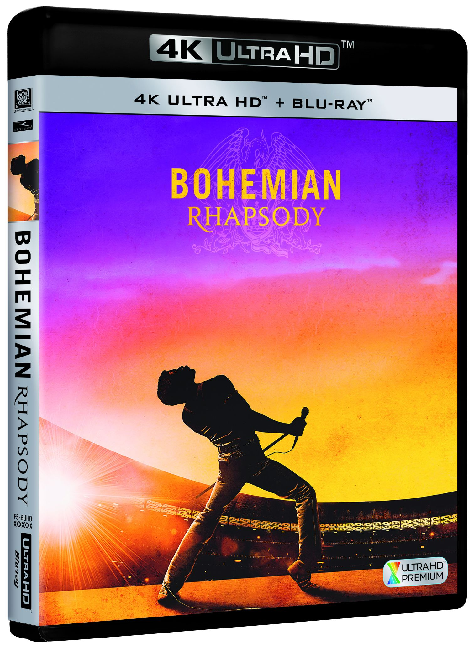 bohemian rhapsody - 4k uhd + blu ray --8420266022646