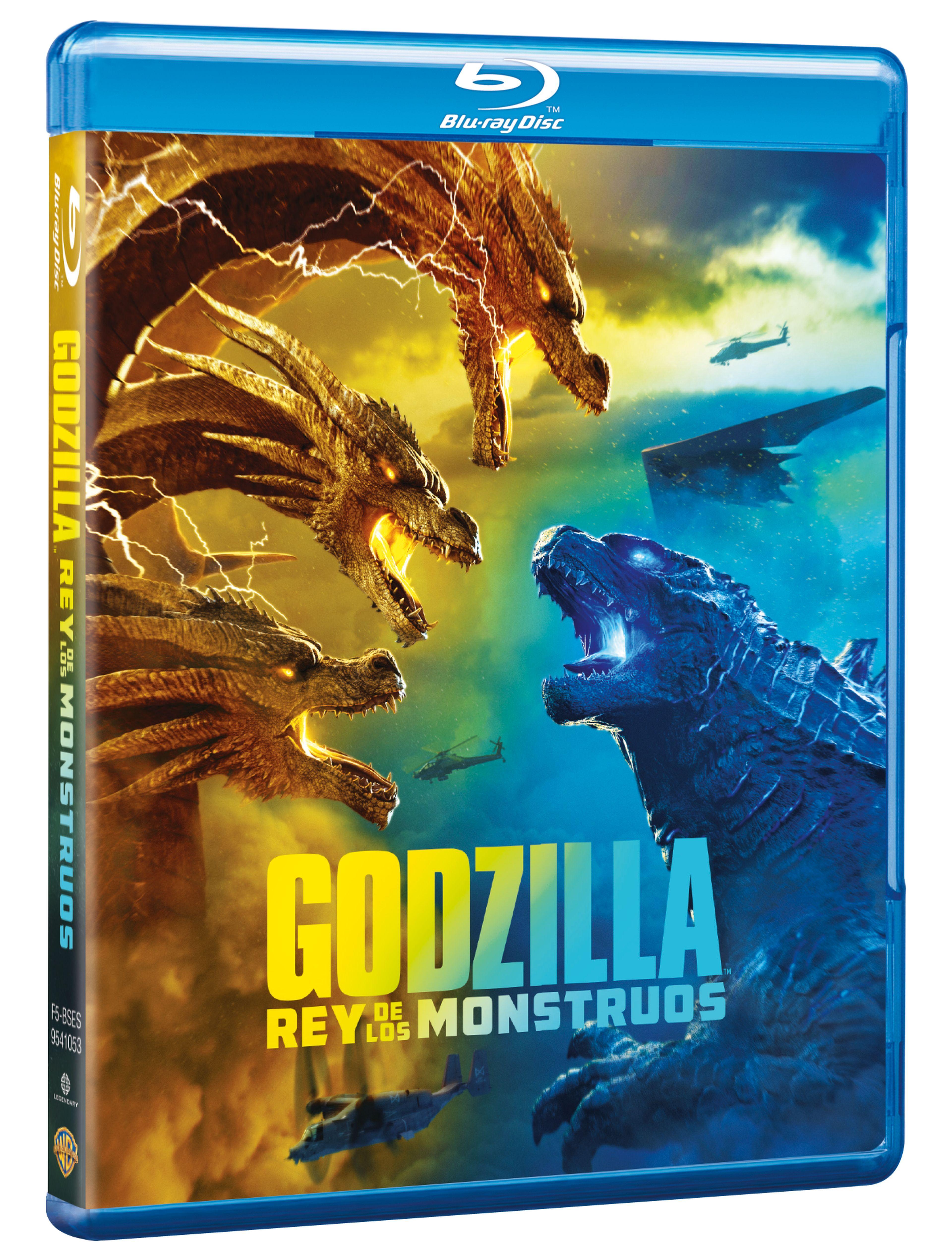 Godzilla Rey De Los Monstruos Blu Ray
