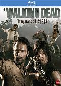 pack the walking dead: temporadas 1 al 4 (blu-ray)-8436540906328