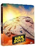 HAN SOLO UNA HISTORIA DE STAR WARS - BLU RAY 3D+2D - ED.STEELBOOK